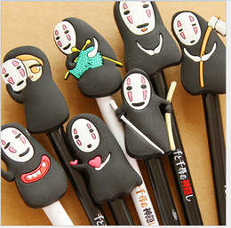 Wholesale South Korea creative stationery cute pen gel pen Miyazaki anime cartoon faceles Men Children s Gifts mm