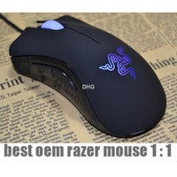 Wholesale RAZER DEATHADDER Razer MOUSE DeathAdder Mouse Internet edition gaming mouse USB wired mouse LOL