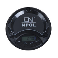Wholesale 100g g Electronic Digital Scaled Ashtray Pocket Jewelry Digital Scale Carat New Balance LCD Display digital scales H9764