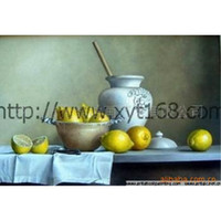 Wholesale Supply of fruit still life paintings restaurant paintings hand painted oil painting flower painting