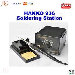 Wholesale Feee shipping V HAKKO Soldering Station Digital solder station SMD rework station