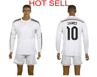 Wholesale 2014 Reals Madrid James Rodriguez Soccer Jerseys Thai Quality Best Sell Soccer Jerseys Well Stitch Logos Discount Sports Apparel
