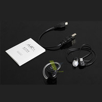 For Apple iPhone Bluetooth Headset  Free shipping Wireless Bluetooth Mini stereo rechargeable Detachable ear caps call music V3.0 YE-106S Earphone Headset for IPhone Android