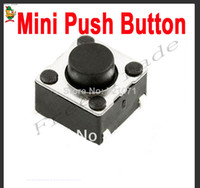 FZ0136   1000pcs SMD Tactile Tact Mini Push Button Switch Micro Switch Momentary Free Shipping Dropshipping
