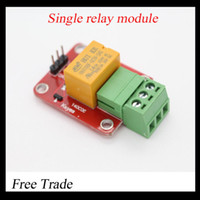 Free Trade MD0195  Free shipping! Single relay module   5V 12V relay module   appliances control module