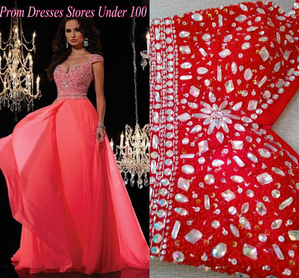 Cheap Pink Prom Dresses Under 100