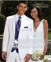 Cheap Wool Blend Groom Tuxedos Best Reference Images Two-Button mens wedding suits