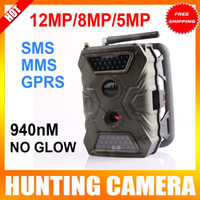 UNITOPTEK Yes Yes 940NM IR LED 20M (65FT) GSM MMS GPRS 12MP 8MP 5MP HD digital Hunting Trail Camera With 720P Video