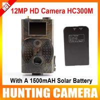 UNITOPTEK Yes Yes 12MP 8MP 5MP 1080P 940NM Black IR night vision MMS GPRS trail game camera hunting camera + Solar Battery