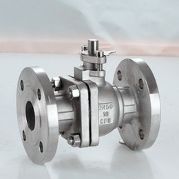 Wholesale Stainless steel flange ball valve GB