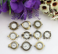 Wholesale Mixed styles of Antiqued bronze watch faces