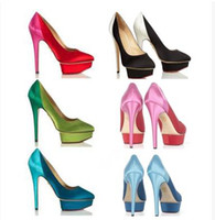Wholesale Special New Fashion Spell color High heeled Women s singles shoes Wedding shoes Heels shoes Bridesmaid shoes