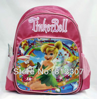 Wholesale Tinkerbell Fairy Child School Bag And Retail
