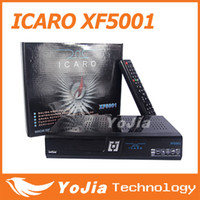 Wholesale 1pc Original ICARO XF5001 Satellite Receiver HD DVB S S2 Twin Tuner Support iks sks wifi use for south america