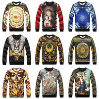 diamond supply co - 2014 New Fashioni d Stereoscopic Sweatshirt Men Angel Roman Pharaoh Drop Dead Star Wars Diamond Supply Co Men