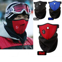 Wholesale Neoprene Neck Warm Half Face Mask Winter Veil Guard Sport Bike Bicycle Motorcycle Ski Snowboard