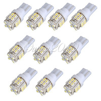 Wholesale 10PCS T10 SMD LED White Super Bright Car Lights Bulb bulbs W5W