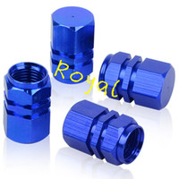Decorated Wheel Rims Caps SUV Bike Motorcycles Hot Rods BMW AUDI TOYOTA HONDA KIA GMC CHEVY Wholesale-MN-4 PCS FREE SHIPPING BLUE MOTORCYCLE BIKE CAR TIRE TYRE WHEEL RIM COVERS COVER AIR VALVE STEM CAPS LID AUTO ACCESSORIES SET