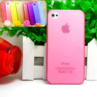 For Apple iPhone Metal Case Shell For Mobile Phone -thin Cover Cases 0.5mm for iphone 4 4S 4G Case Cell Phone Shell Low Price