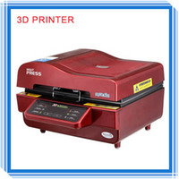 Commercial Heat Transfer Press Printer Semi-Automatic A3 Size 3D Vacuum Sublimation Printing Systems Heat Transfer Presses Sublimation Printer