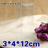 pvc clear plastic gift boxes - 3 cm plastic clear box gifts amp crafts present boxes PVC macaron packaging soap case display