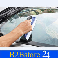 Wholesale Car Auto Wiper Soft Silicone Window Clean Cleaner Squeegee Drying Blade Shower Kit Car Care Cleaning
