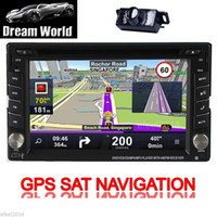 car navigation - In Dash quot Din Car GPS Navigation Stereo DVD Player Touch Screen