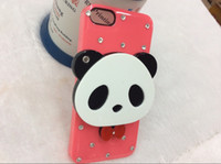 Wholesale Fashion Lovely Cartoon Mirror Cell Phone Cases Hot PC Telephone Case For Apple Iphone G S Back Cover Factory Outlet Price Top Quality