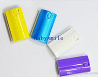 Power Bank Universal Power Bank colorful! supply entertaining diversions fashion high capacity mobile power supply charging treasure 5600 mah for HTC