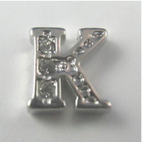 Charms floating charms Other Letter K Alphabet Floating Charms For Living Memory Glass Lockets