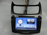 Wholesale AMAZING RUSH ITEM CHEVROLET SAIL Car DVD Player NAVIGATION DVD GPS iPOD BT RADIO faster speed stable1080P vitual disc DHL FEDEX FAST