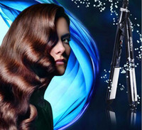Wholesale Travel Home Mini Professional Flat Iron Heating Hair Straighter amp Curling Curler Roller Iron
