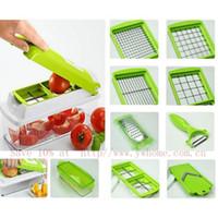 dicer chopper - Nicer Food Slicer Dicer Chopper Cutter Peeler Cut Vegetable and Fruit Processor