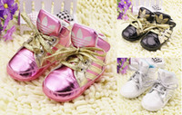 Wholesale 22 off autumn PU lace up baby shoes CM neonatal soft bottom casual shoes Cheap Velcro toddler shoes pair CL