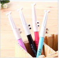 crocodile pen - 24pcs Cartoon crocodile pen Gel Ink pen mm Korean creative stationery Colorful Ink Children s Gifts