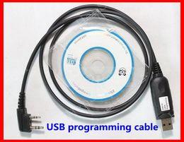 Walkie Talkie radio USB Cable de Programación para el transmisor de radio BAOFENG UV-5R UV82 BF-888S uv-b5 uv-b6 wouxun kg-uvd1p puxing