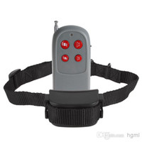 Wholesale Quick Response for Training Pets Remote Pager Collar with Levels of Vibrations and Whistle LIF_918
