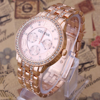 Wholesale 2014 Geneva Watch Full Steel Watches Women dress Rhinestone Analog wristwatches men Casual watch Ladies Unisex Quartz watches XYY76