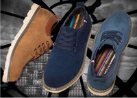 Lace-Up Men Spring and Fall Men platform shoe,canvas shoe,autumn oxford shoes for men,men leather shoes,free shipping