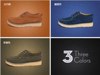Wholesale Korean Men s canvas shoes working boots oxford shoes for men men dress shoes men leather shoes