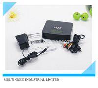 Android TV Box android 4.2 MK802 II Cheap Android tv box Amlogic mx 1gb 8gb wifi rj45 usb 2.0 port hdmi Android 4.2 smart tv box