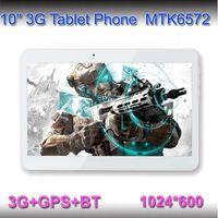 letine 10 inch Dual Core 10inch 3G Phone Call tablet pc 1G+8G MTK6572 Dual Core 1.2Ghz android 4.2 phone call Tablets GPS bluetooth Wifi Dual Camera Phablet Sim Card