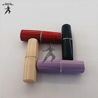 pill bottles - beautiful lipstick shape pill bottle snuff snorter rolling machine paper shisha hookah smoking pipe vaporizer sell well