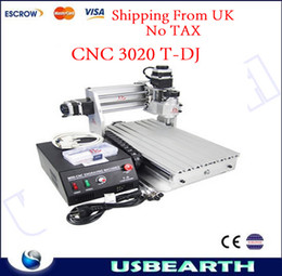 Wholesale NO TAX ship from UK mini desktop engraving machine CNC T DJ upgrade from mini cnc router small cnc milling machine T DJ