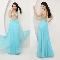 Sexy Long See Through 2014 Celebrity Ball Gowns ssj Fall Pro...