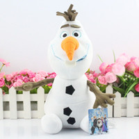 EMS 2015 Frozen new 12 inch 30cm Olaf the snowman plush toys...