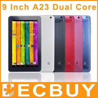 Under $50 9 inch Dual Core Discount tablet pc Bluetooth dual camera android 4.2 9 inch 9inch A23 Cheap tablets pc 20pcs
