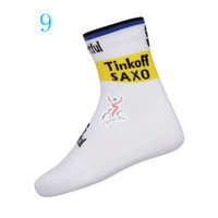 bank socks - 2014 Tinkoff saxo bank cycling socks coolmax dry fit quick dry outdoor sports socks used for mountain and road riding