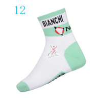 bianchi socks - 2014 bianchi team cycling socks coolmax dry fit quick dry outdoor sports socks used for mountain and road riding