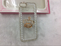 Plastic bling cell phone case - Bling Diamond Cute Cartoon Crown Butterfly Cell Phone Case Fashion Mobile Phone Cover Back Cases For Apple Iphone G S Mix Styles